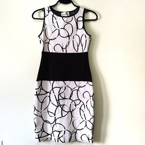 Strechy bodycon Joseph Ribkoff dress